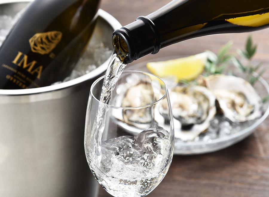 今代司《IMA 牡蠣のための日本酒》