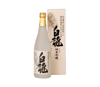 Contract cultivated rice Junmai Ginjo Hakuryu