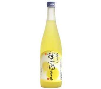 萬寿鏡 柚子酒
